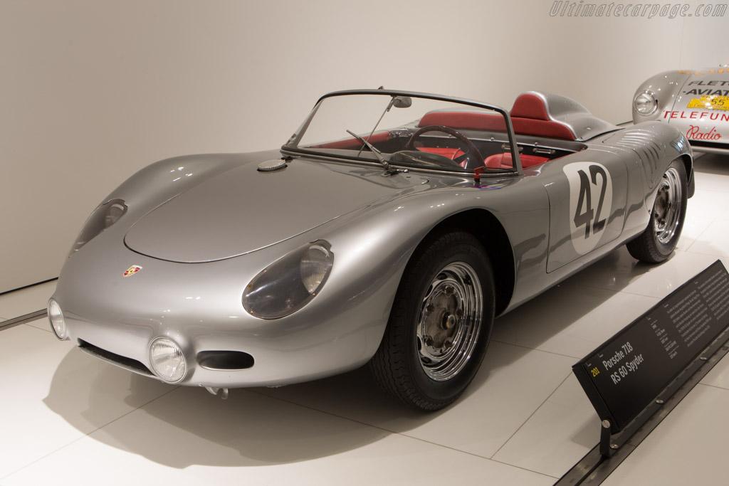 Porsche 718 RS 60 Spyder - Chassis: 718-043   - Porsche Museum Visit