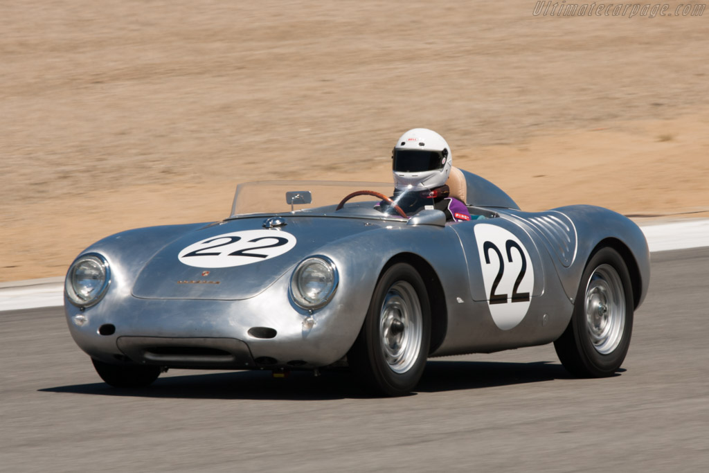 Porsche 550a Rs Spyder Chassis 550a 0115 2010