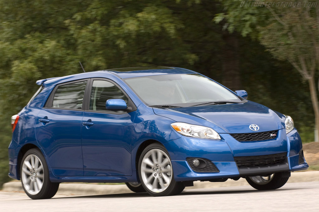 Click here to open the Toyota Matrix XRS gallery