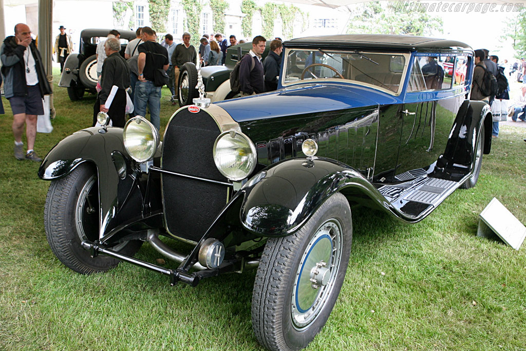1932 bugatti type 41 royale kellner coach - images, specifications