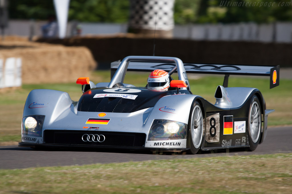 Audi R8R - Chassis: 308   - 2009 Goodwood Festival of Speed