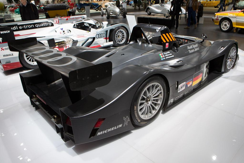 Audi R8R - Chassis: 205   - 2014 Techno Classica
