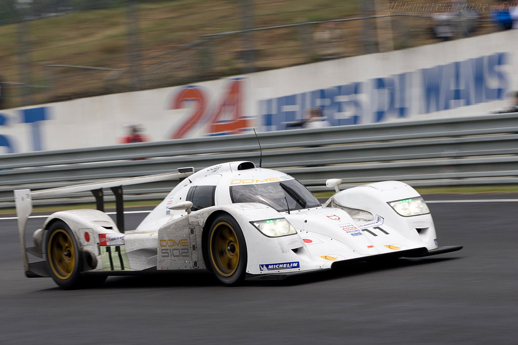 Dome S102 Judd - Chassis: S102-003   - 2008 24 Hours of Le Mans Preview
