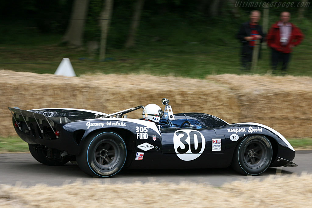Lola T70 Mk2 Spyder Ford - Chassis: SL71/34   - 2007 Goodwood Festival of Speed