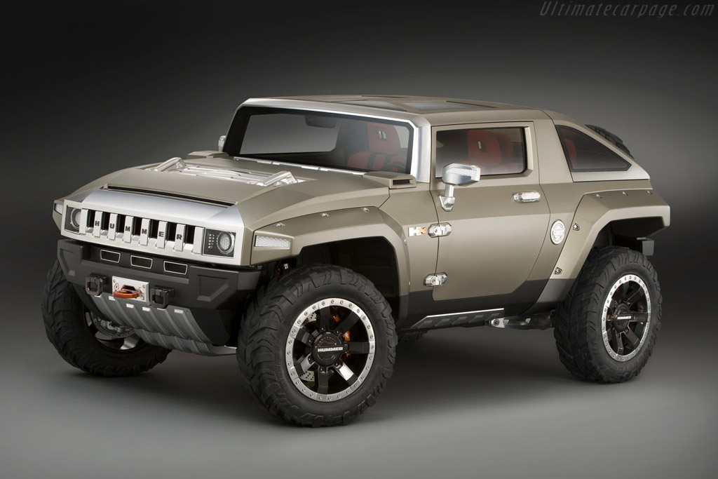 Click here to open the Hummer HX Concept gallery