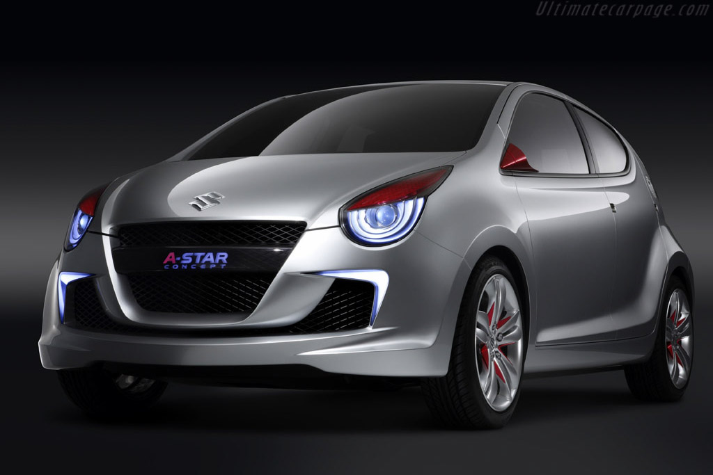 Click here to open the Suzuki A-Star Concept gallery