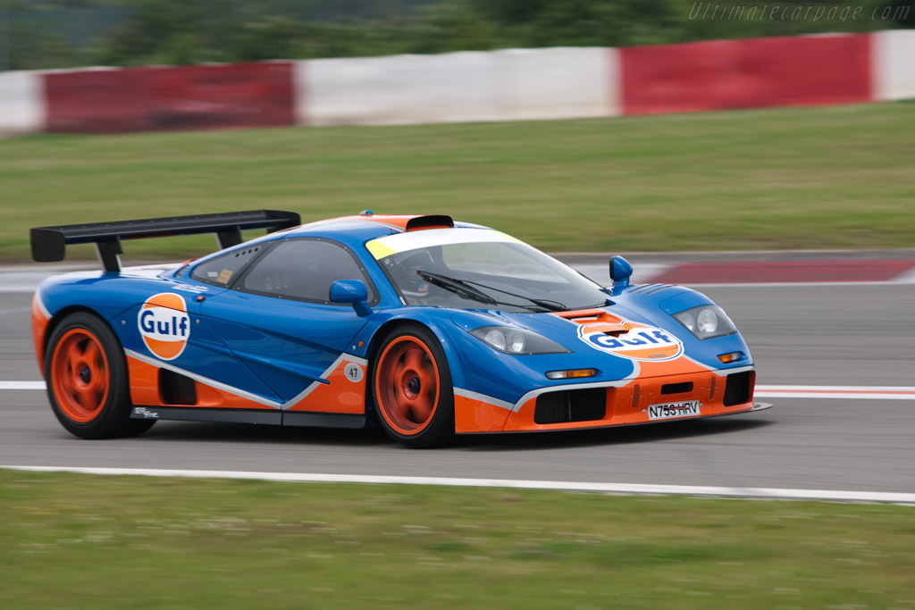 Mclaren F1 Gtr Chassis 12r 2009 Modena Trackdays High