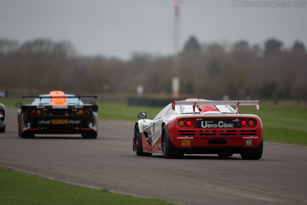 McLaren F1 GTR - Chassis: 03R - Driver: Christian Glaesel  - 2017 Goodwood Members' Meeting