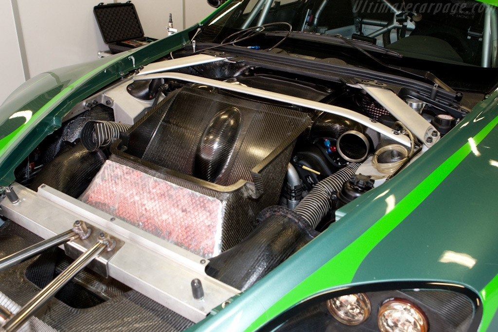 Aston Martin V8 Vantage GT2 - Chassis: GT2/002   - 2009 Le Mans Series Spa 1000 km