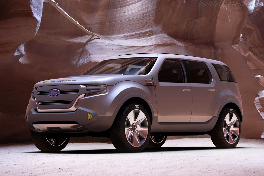 Click here to open the Ford Explorer America Concept gallery