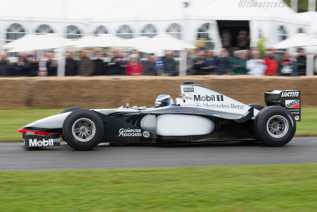 McLaren MP4-13 Mercedes - Chassis: MP4-13A-04   - 2012 Goodwood Festival of Speed