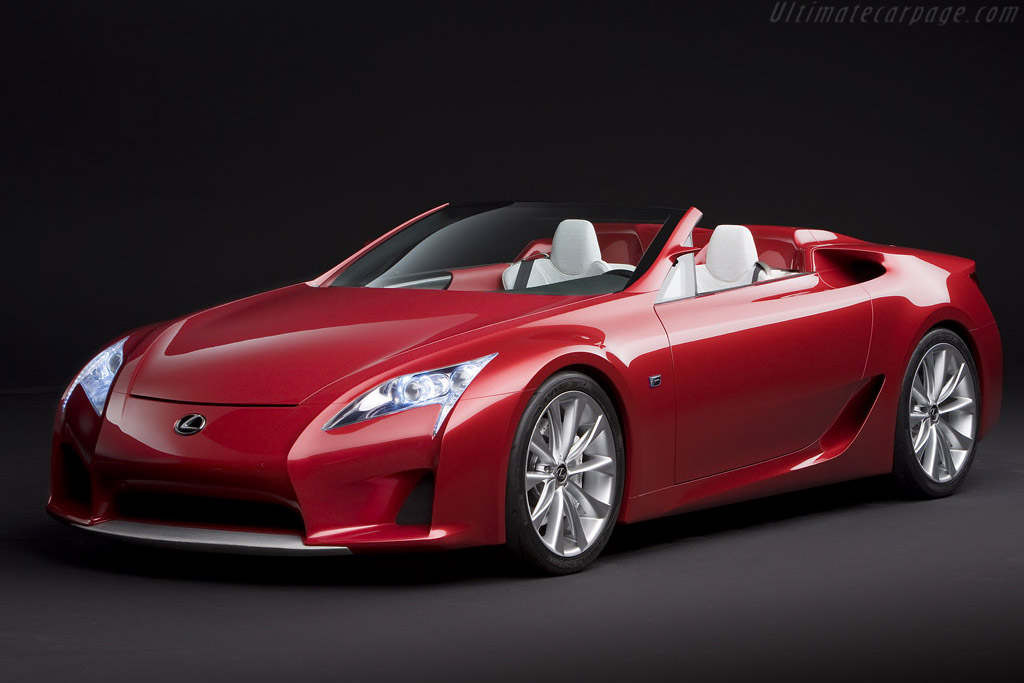 Click here to open the Lexus LF-A Roadster Concept gallery