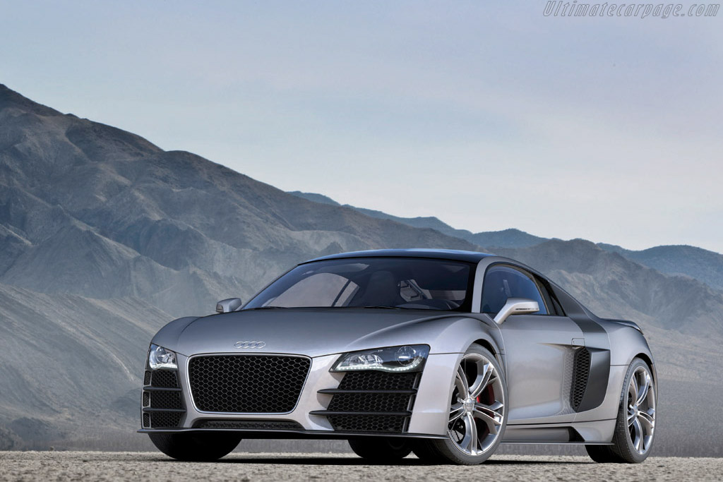 Click here to open the Audi R8 V12 TDI Concept gallery
