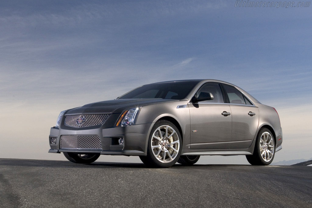 2008 Cadillac Cts V Images Specifications And Information