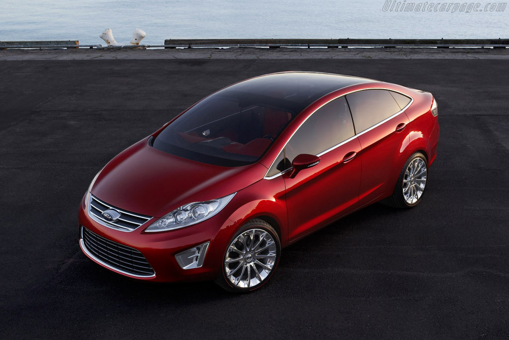 Click here to open the Ford Verve Sedan Concept gallery
