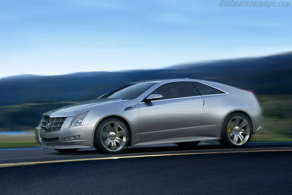 Click here to open the Cadillac CTS Coupe Concept gallery