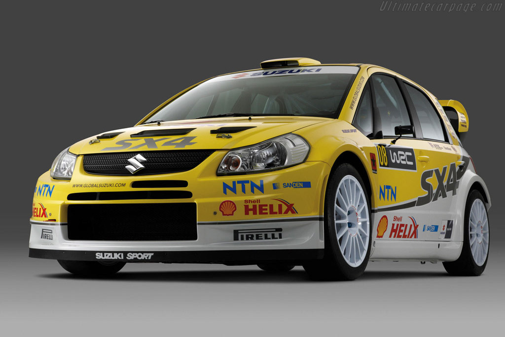 Click here to open the Suzuki SX4 WRC gallery