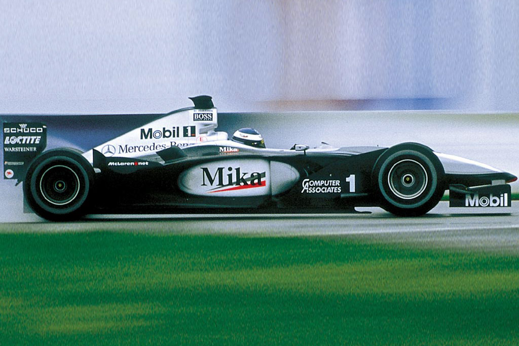 Click here to open the McLaren MP4-15 Mercedes gallery