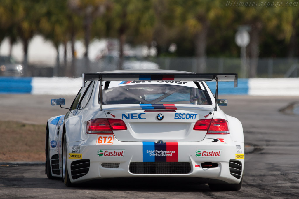 BMW M3 GT2 - Chassis: 903   - 2009 Sebring 12 Hours