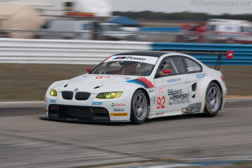 BMW M3 GT2 - Chassis: 901   - 2009 Sebring 12 Hours
