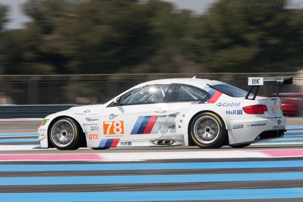 BMW M3 GT2 - Chassis: 1001   - 2010 Le Mans Series Castellet 8 Hours