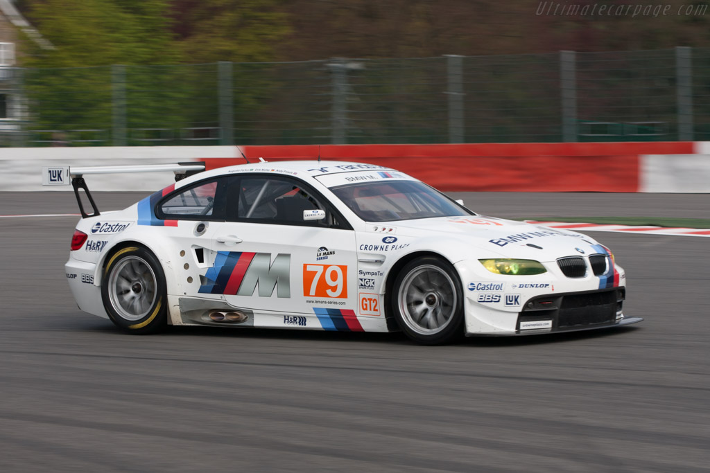 BMW M3 GT2 - Chassis: 1002   - 2010 Le Mans Series Spa 1000 km