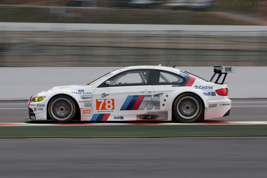 BMW M3 GT2 - Chassis: 1001   - 2010 Le Mans Series Spa 1000 km