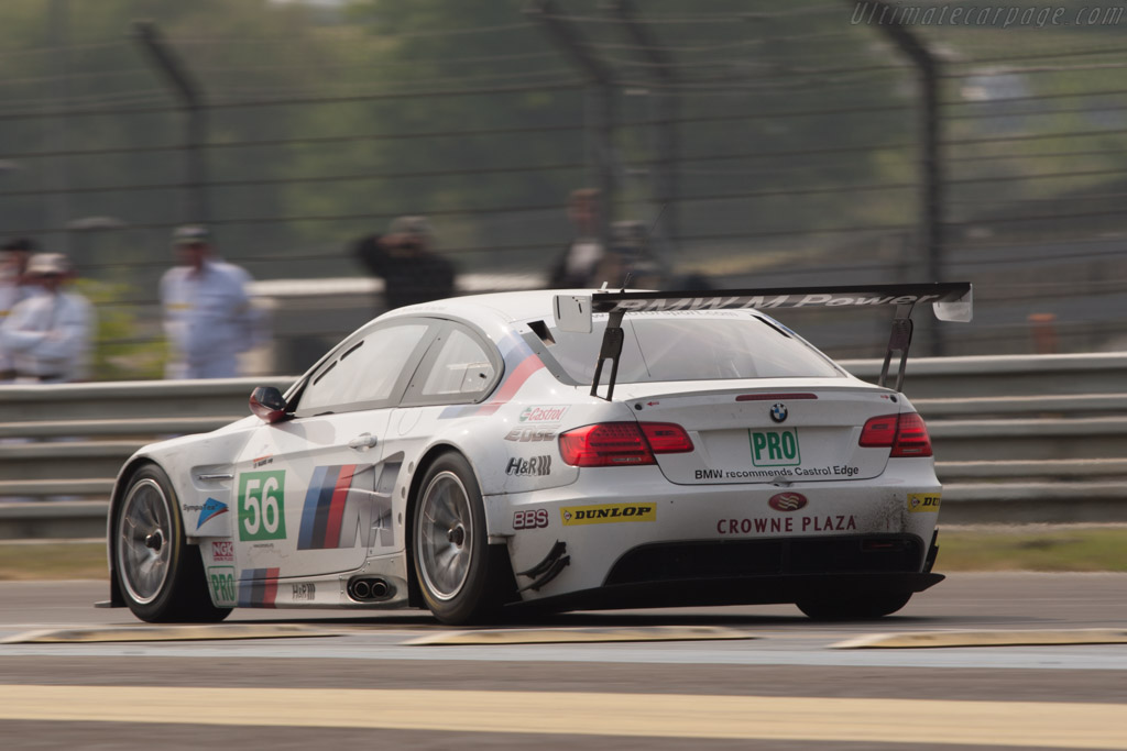 BMW M3 GT2 - Chassis: 1106   - 2011 Le Mans Test