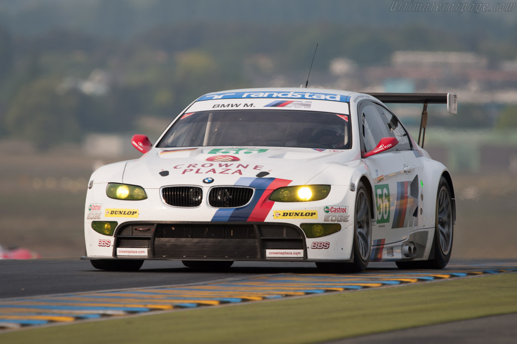 BMW M3 GT2 - Chassis: 1106   - 2011 Le Mans Test