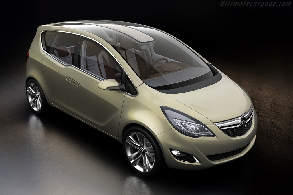 2008 opel meriva concept images specifications and information. Black Bedroom Furniture Sets. Home Design Ideas