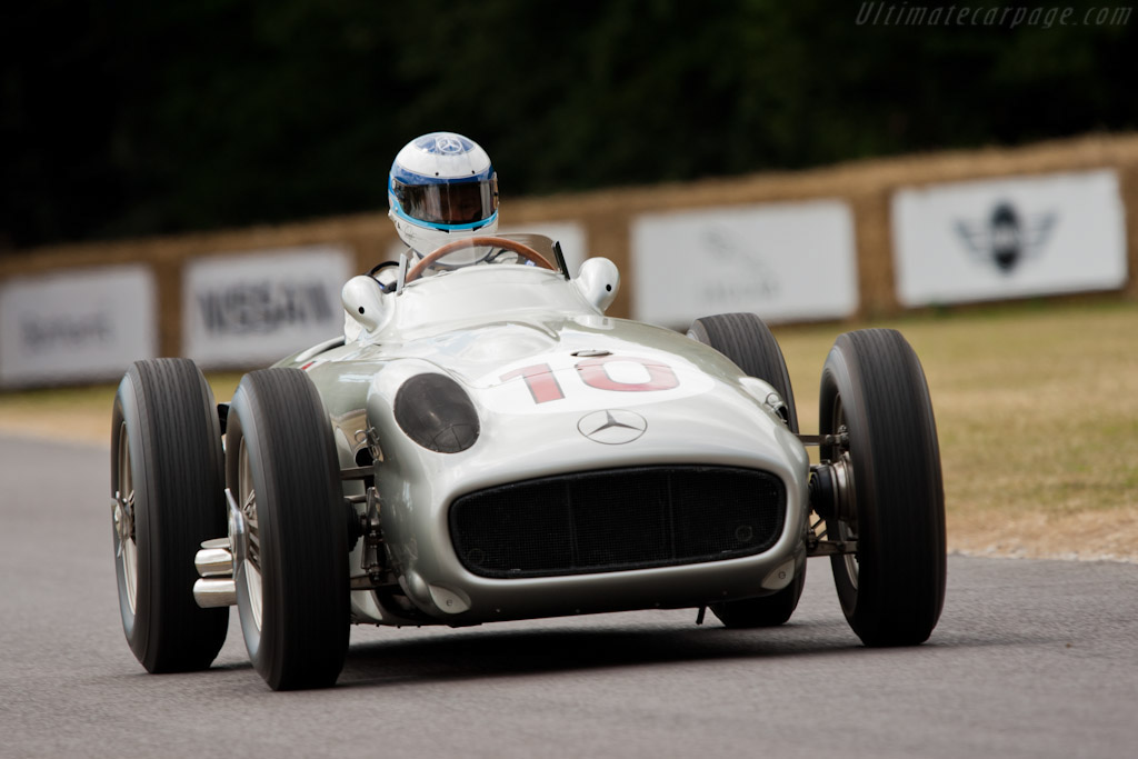 Mercedes-Benz W196 - Chassis: 000 08/54   - 2010 Goodwood Festival of Speed