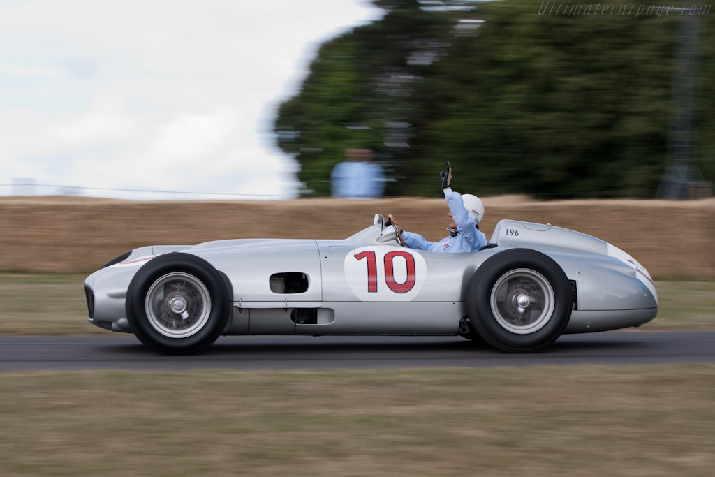 Mercedes-Benz W196 - Chassis: 000 08/54   - 2009 Goodwood Festival of Speed