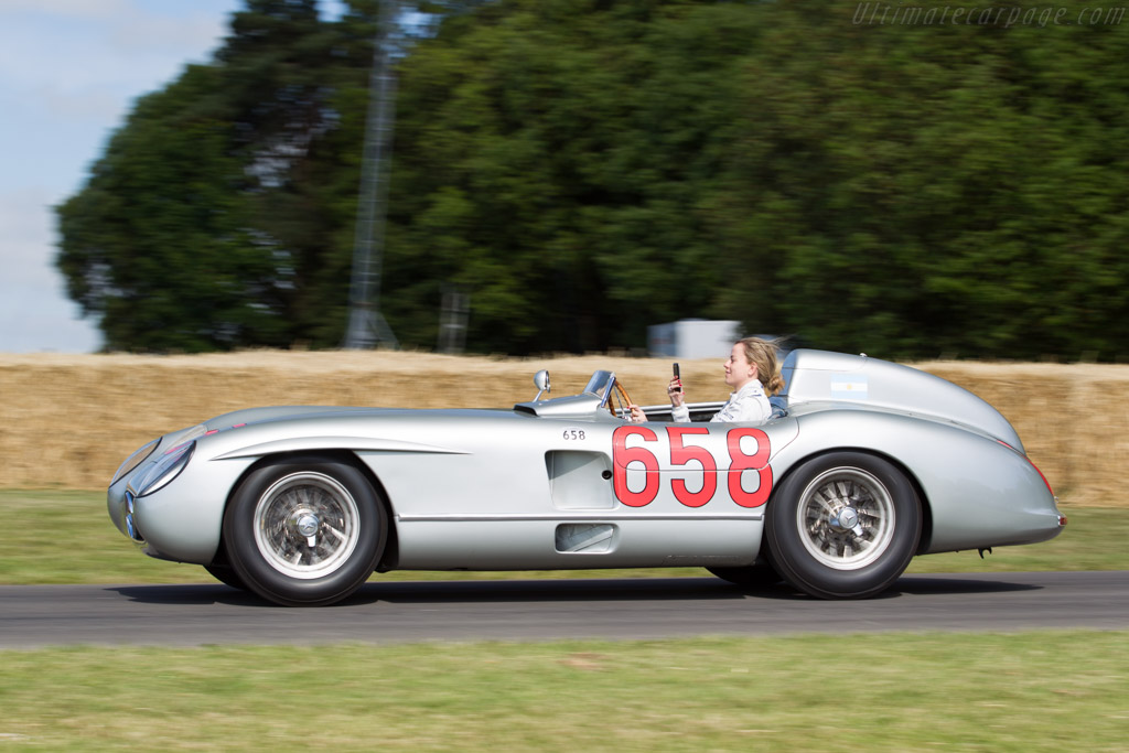 Mercedes-Benz 300 SLR Roadster - Chassis: 00010/55 - Driver: Susie Wolff  - 2015 Goodwood Festival of Speed