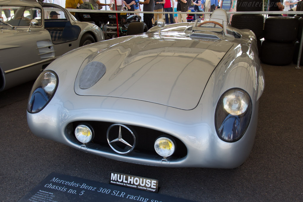 Mercedes-Benz 300 SLR Roadster - Chassis: 00005/55   - 2015 Goodwood Festival of Speed