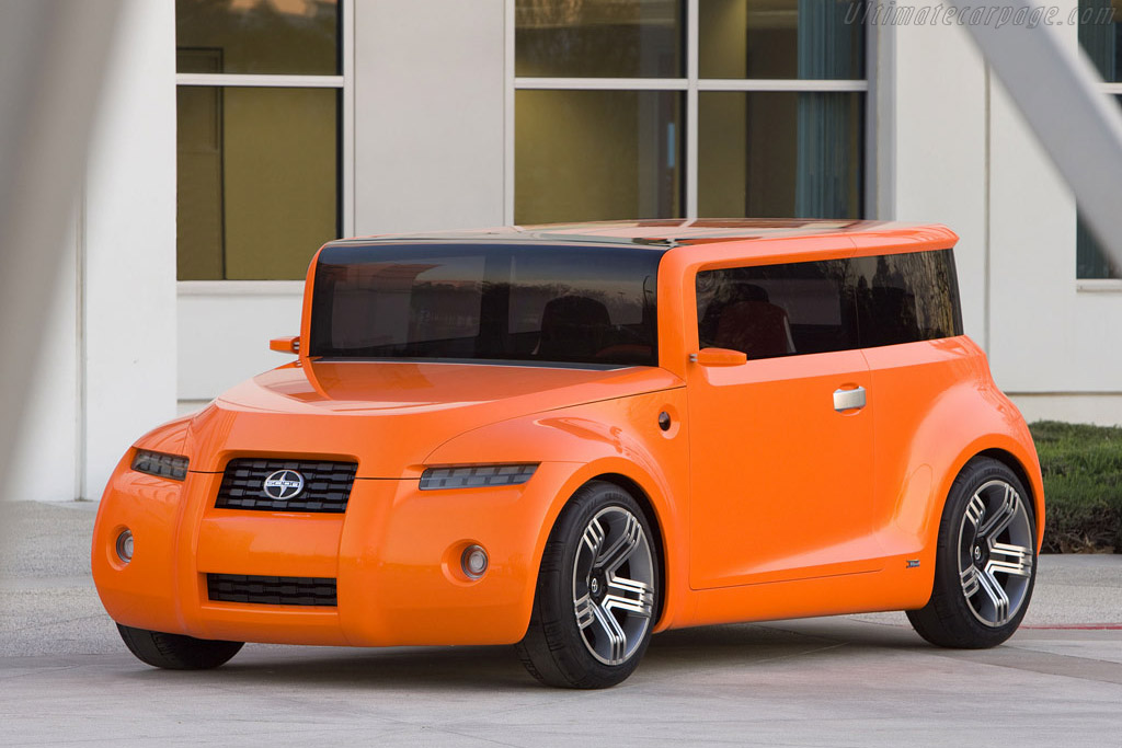 Click here to open the Scion Hako Coupe Concept gallery