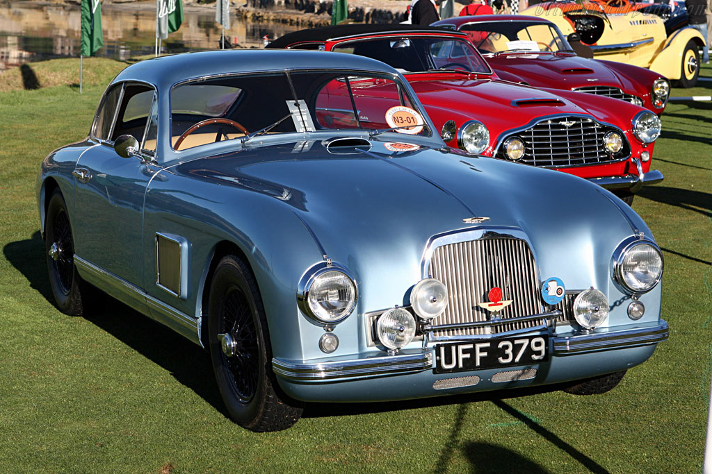 Aston Martin Db2 Coupe 2007 Pebble Beach Concours D Elegance