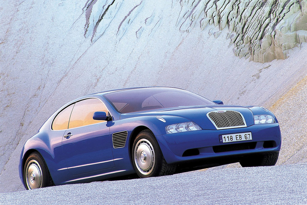 Click here to open the Bugatti EB 118 Concept gallery