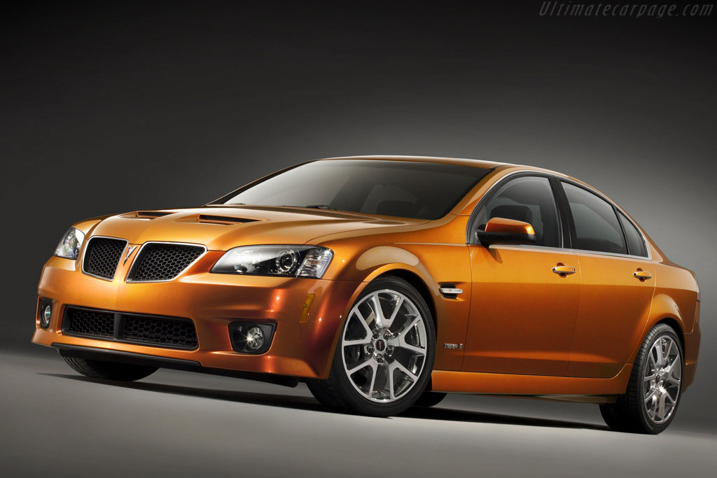 Click here to open the Pontiac G8 GXP gallery