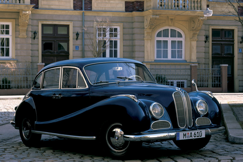 1954 - 1961 BMW 502 Limousine - Images, Specifications and Information