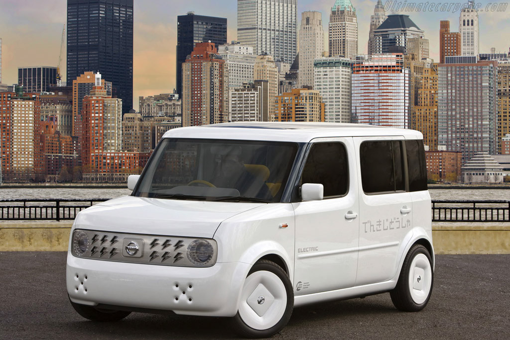 Click here to open the Nissan Denki Cube Concept gallery