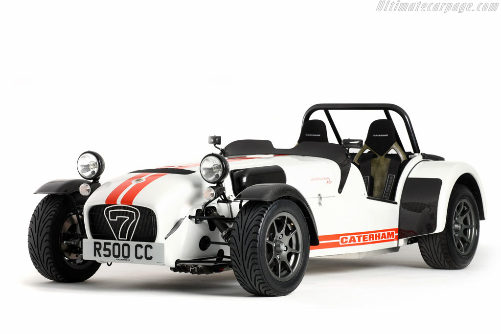Click here to open the Caterham Seven Superlight R500 gallery