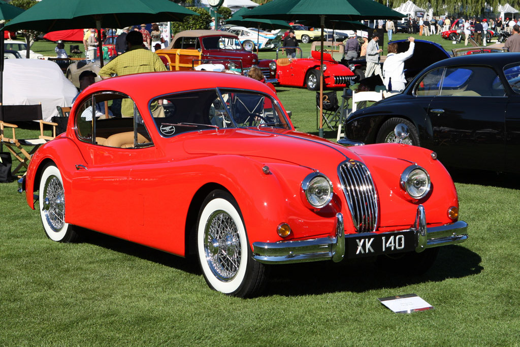 Click here to open the Jaguar XK140 Fixed Head Coupe gallery