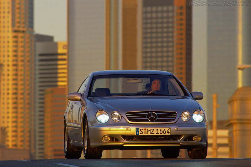 Click here to open the Mercedes-Benz CL 500 gallery