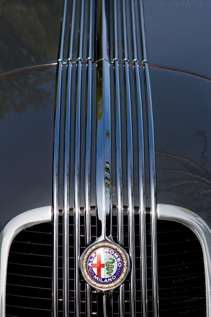 Alfa Romeo 6C 2300 B Pescara Pinin Farina Berlinetta - Chassis: 813812   - 2008 Concorso d'Eleganza Villa d'Este