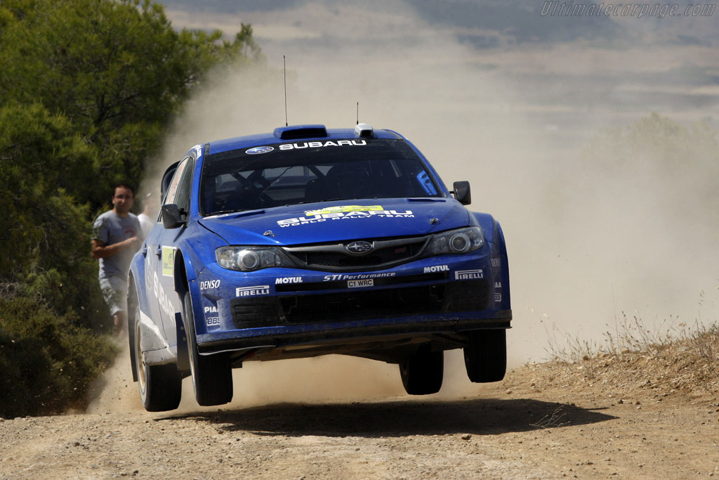 Click here to open the Subaru Impreza WRC2008 gallery