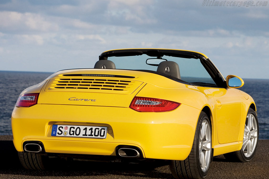 Click here to open the Porsche 997 Carrera Cabriolet gallery