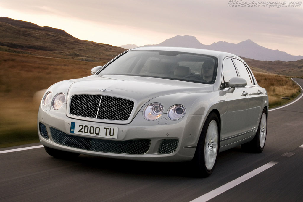 Click here to open the Bentley Continental Flying Spur Speed gallery
