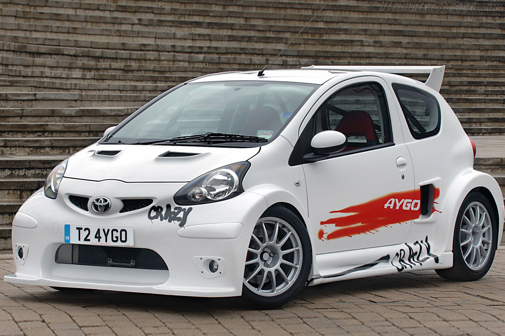 Click here to open the Toyota Aygo Crazy Concept gallery