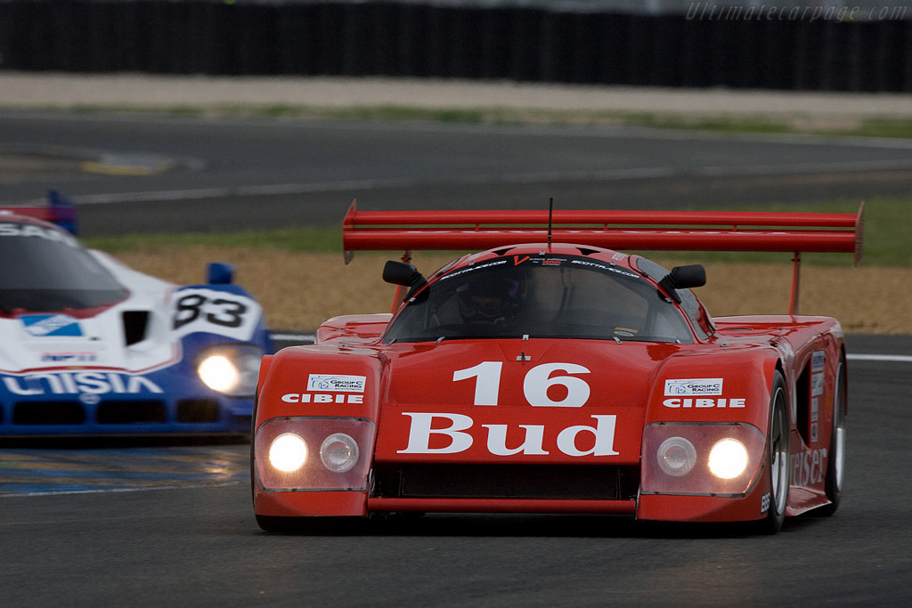 March 84G Chevrolet (Chassis 84G/01 - 2008 24 Hours of Le Mans) High Resolution Image