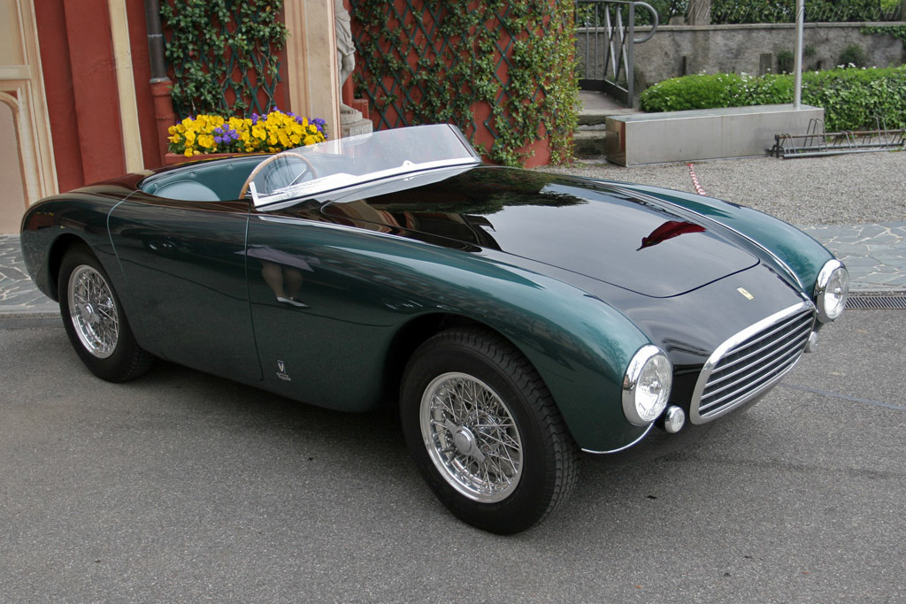 Click here to open the Ferrari 212 Export Vignale Spyder gallery